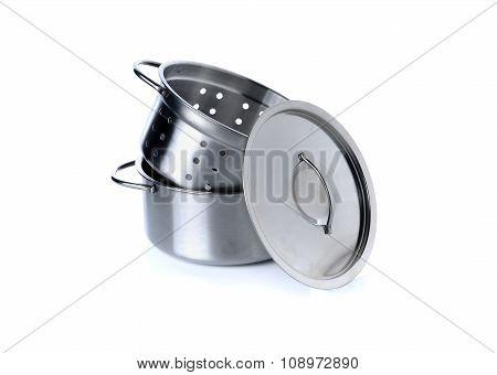 Kitchenware For Children Imagination On White Background