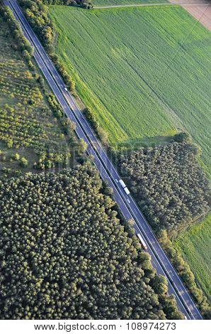 Aerial View Of Brandenburg, Germany