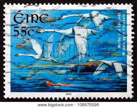 Postage Stamp Ireland 2012 Children Of Lir, Irish Legend