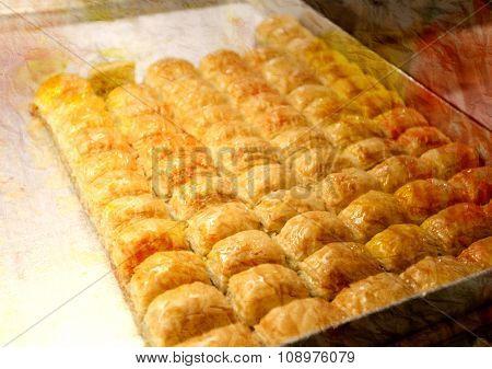Tasty Oriental Sweets Baklava