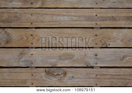 Aged Wooden Pallet For Background Or Backdrop Poster ID 108979151