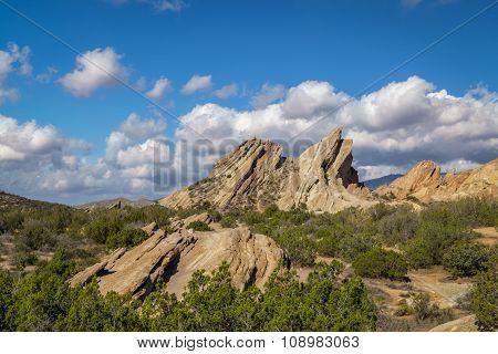 Vazquez Rocks Panorama