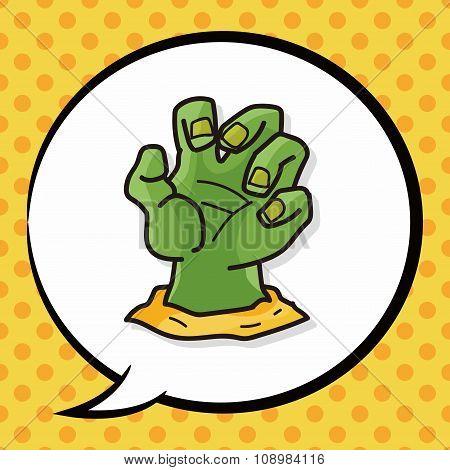Monster Hand Doodle