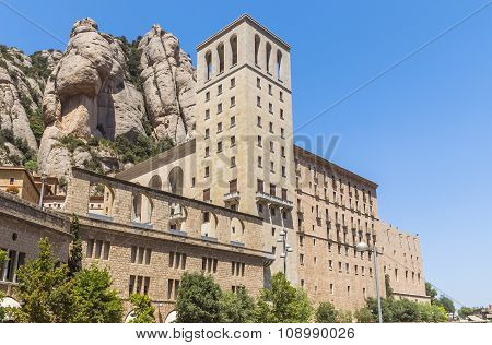 The Benedictine Abbey Santa Maria De Montserrat