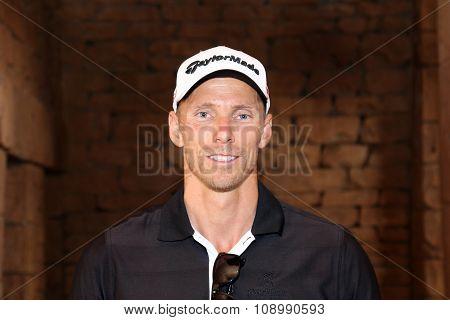 Springbok International Swimmer Roland Schoeman November 2015 In South Africa