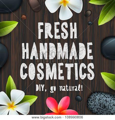 Fresh handmade organic cosmetics