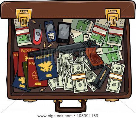 Spy Suitcase