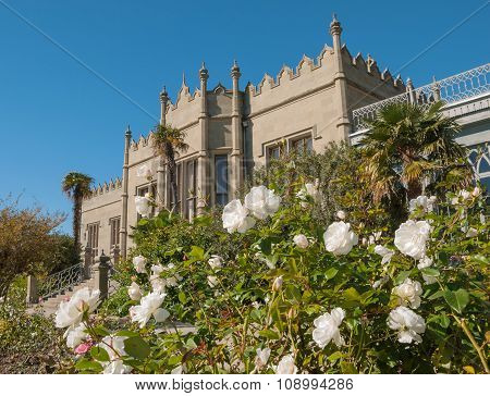 Architecture and flowers