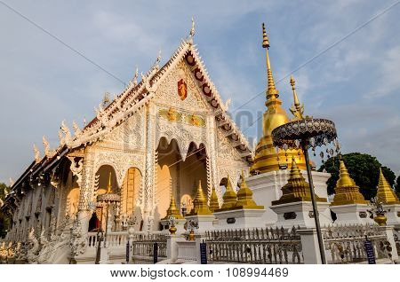 Buddist Temple In Lampang, Thailand