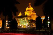 stock photo of vidhana soudha  - The state legislature building - JPG
