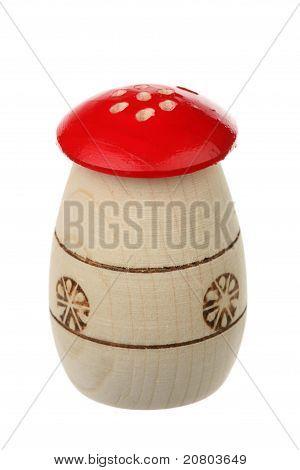Wooden Saltcellar-pepperbox