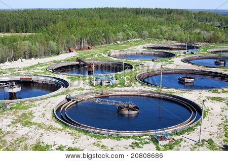 Water Recycling On Sewage Treatment Station