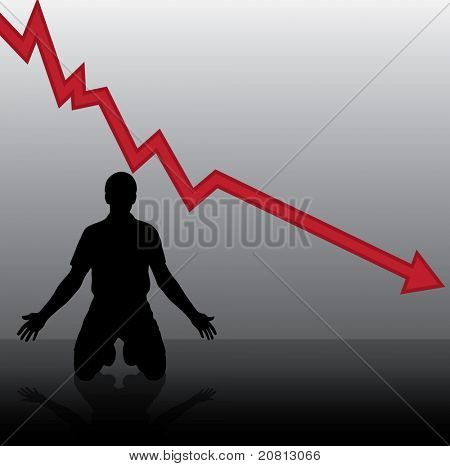 Vector concept of financial crisis
