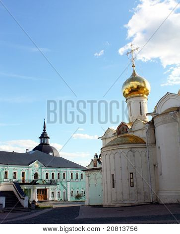 Sergiev Posad. Church Filaret Gracious And The Trinity Cathedral