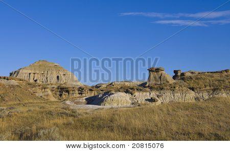 Terreno em terras de males do deserto