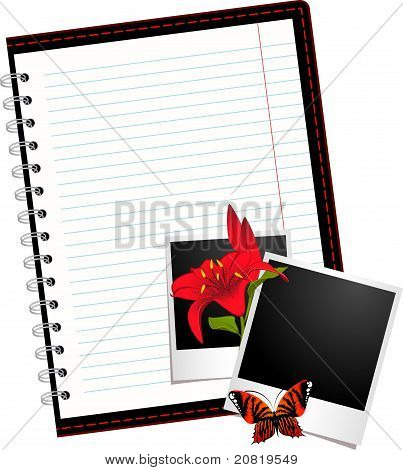 Beautiful notebook
