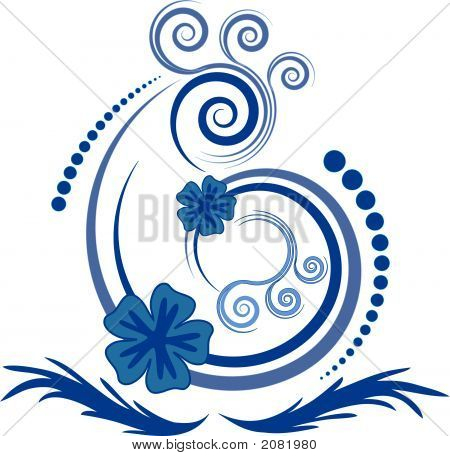 Beautiful Abstract Floral Vector Design