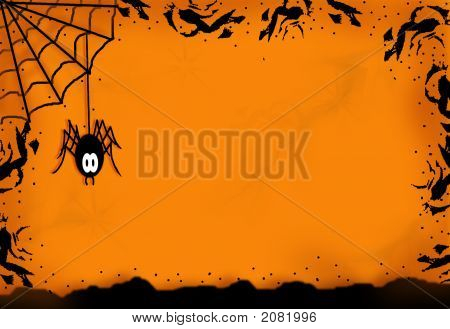 Spider Halloween Design