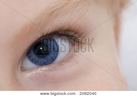 Child Blue Eye