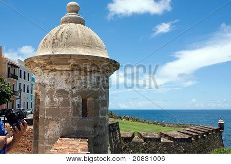 Torre de Fort San Cristobal