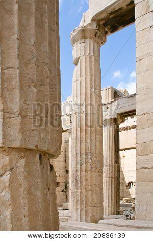 Colonnade Of Propylaea