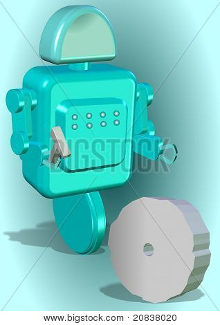 Robot creativa