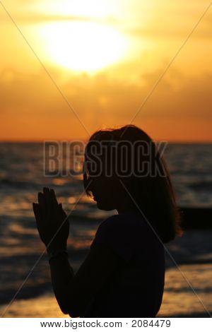 Prayer At The Sea