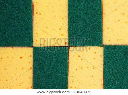 Texture Of Sponge