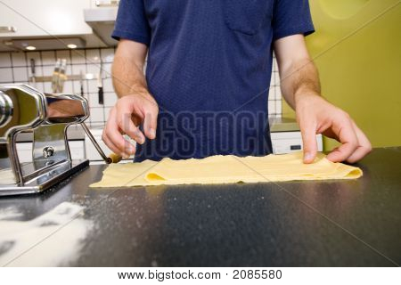 Pasta On Counter