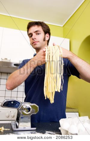 Proud Homemade Fettuccine Chef