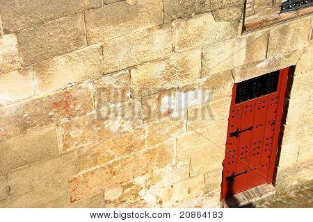 Door In The Bull Arena In Seville
