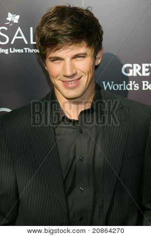 LOS ANGELES - JUN 11:  Matt Lanter arrives at the 10th Chrysalis Butterfly Ball at Private Home on June 11, 2011 in Brentwood, CA