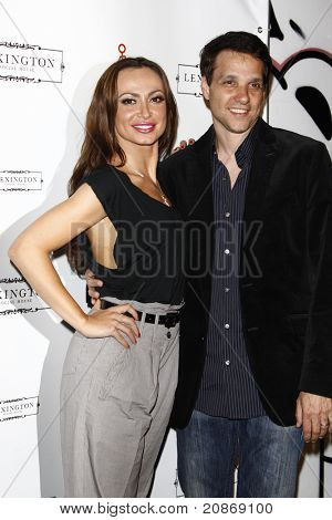 LOS ANGELES - JUN 8: Karina Smirnoff, Ralph Macchio at the Grand Opening of Lexington Social House in Los Angeles, California on June 8, 2011.