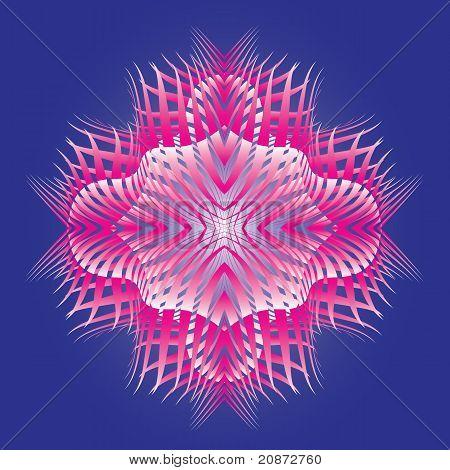 Abstract Magic Star