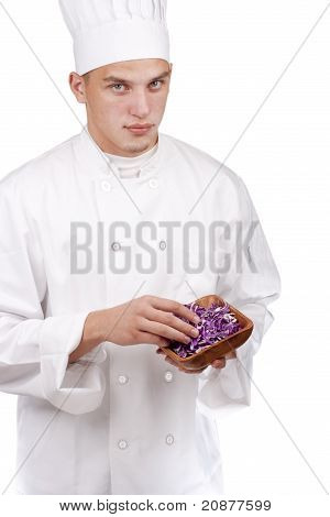 Chef In Uniform