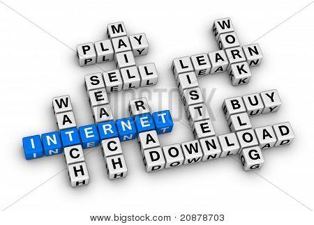 Internet Crossword