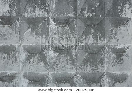 Concrete Relief Slab Covered With Lime
