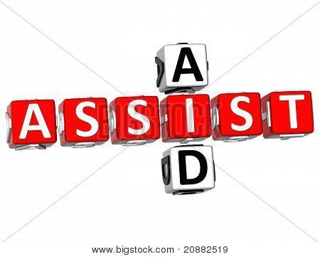 3D Assist Aid Crossword