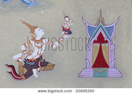 Detail der thai-Stil-tradition