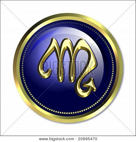 Scorpio astrological symbol