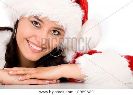 Female Santa Portrait