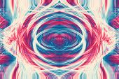 Funky Futuristic Colorful Background