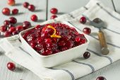 Sweet Homemade Cranberry Sauce poster
