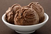 picture of ijs  - real gourmet chocolate ice cream not made with mashed potatoes or shortening and meets all the regulations regarding using real dairy products to advertise dairy - JPG