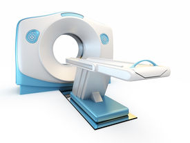 picture of medical equipment  - A 3D illustration of a MRI - JPG