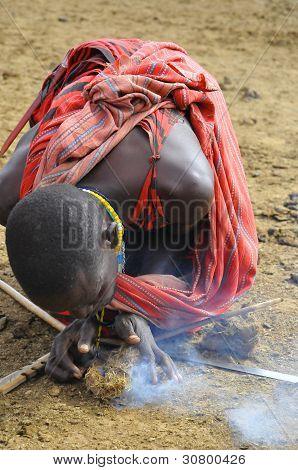 Guerreros Masai