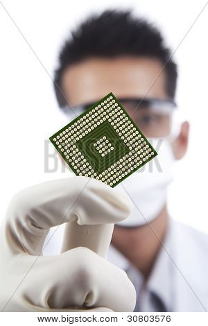 Computadora de microchip