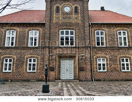 Old Cityhall In Holstebro, Denmark