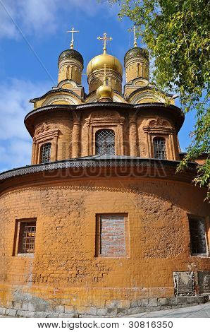 Golden Domed Church, Moscow