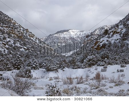 Canyon Snowstorm